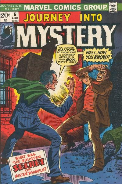 Cover for Journey into Mystery (Marvel, 1972 series) #6