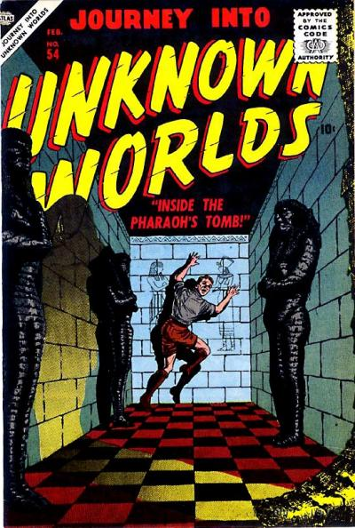 Cover for Journey into Unknown Worlds (Marvel, 1951 series) #54