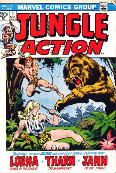 Cover for Jungle Action (Marvel, 1972 series) #1