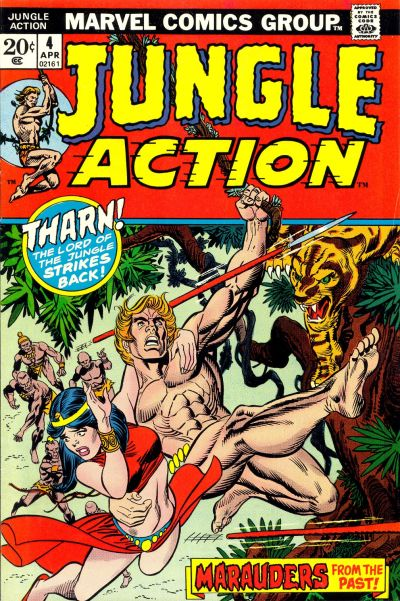 Cover for Jungle Action (Marvel, 1972 series) #4