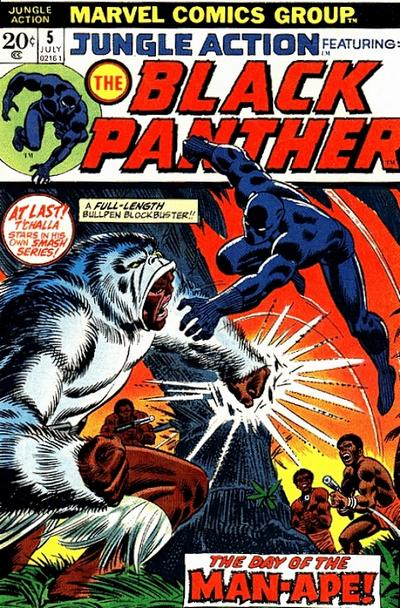 Cover for Jungle Action (Marvel, 1972 series) #5
