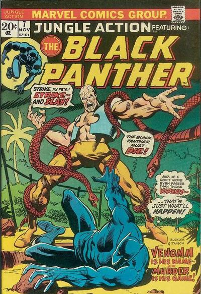 Cover for Jungle Action (Marvel, 1972 series) #7