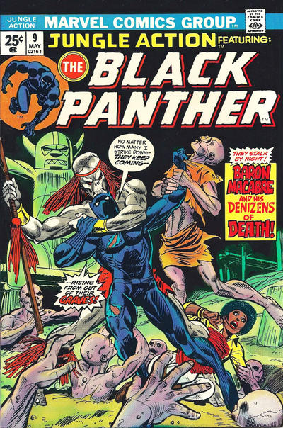 Cover for Jungle Action (Marvel, 1972 series) #9