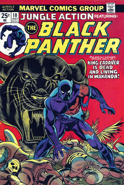 Cover for Jungle Action (Marvel, 1972 series) #10