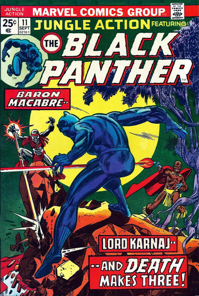 Cover for Jungle Action (Marvel, 1972 series) #11 [Regular Edition]