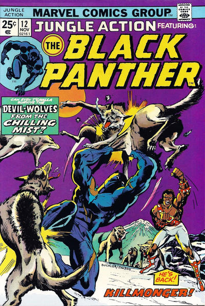 Cover for Jungle Action (Marvel, 1972 series) #12