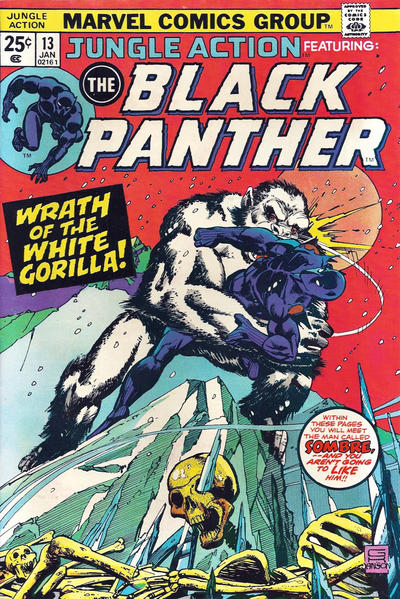 Cover for Jungle Action (Marvel, 1972 series) #13