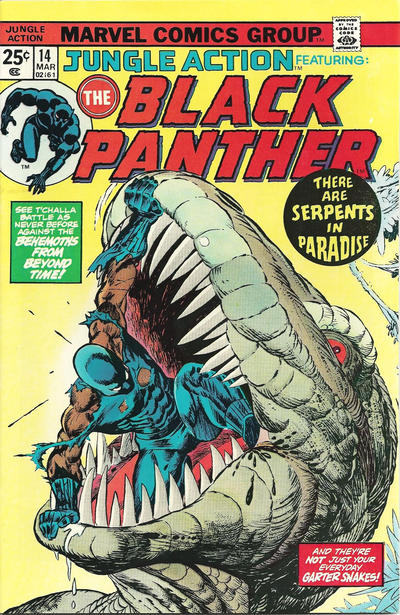 Cover for Jungle Action (Marvel, 1972 series) #14