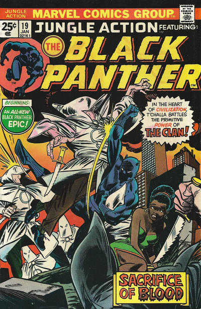 Cover for Jungle Action (Marvel, 1972 series) #19