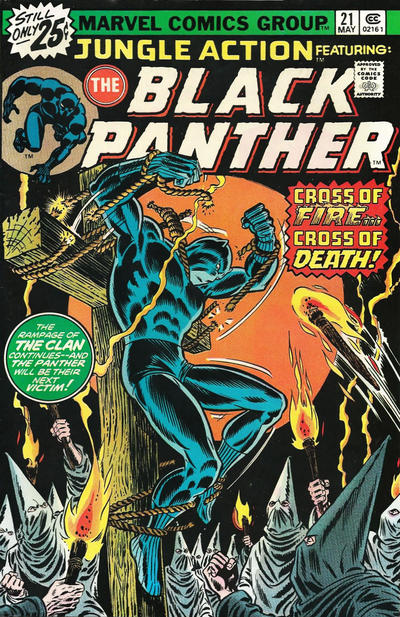 Cover for Jungle Action (Marvel, 1972 series) #21