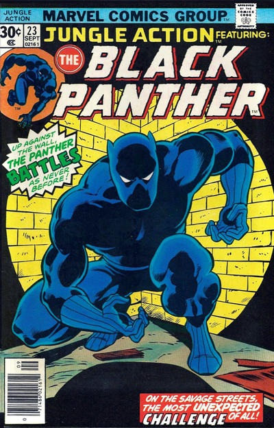 Cover for Jungle Action (Marvel, 1972 series) #23