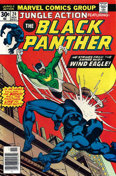 Cover for Jungle Action (Marvel, 1972 series) #24