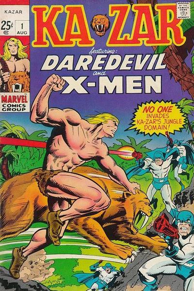 Cover for Ka-Zar (Marvel, 1970 series) #1