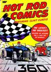 Cover for Hot Rod Comics (Fawcett, 1951 series) #[1]