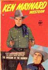 Cover for Ken Maynard Western (Fawcett, 1950 series) #2