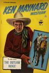 Cover for Ken Maynard Western (Fawcett, 1950 series) #4