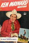Cover for Ken Maynard Western (Fawcett, 1950 series) #8