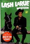 Cover for Lash Larue Western (Fawcett, 1949 series) #4