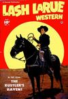Cover for Lash LaRue Western (Fawcett, 1949 series) #5