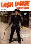 Cover for Lash LaRue Western (Fawcett, 1949 series) #6