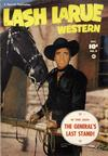 Cover for Lash Larue Western (Fawcett, 1949 series) #9