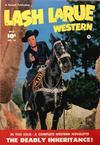Cover for Lash LaRue Western (Fawcett, 1949 series) #16