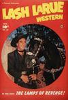 Cover for Lash LaRue Western (Fawcett, 1949 series) #22