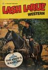 Cover for Lash LaRue Western (Fawcett, 1949 series) #27