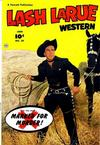 Cover for Lash Larue Western (Fawcett, 1949 series) #29