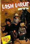Cover for Lash Larue Western (Fawcett, 1949 series) #34