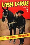 Cover for Lash LaRue Western (Fawcett, 1949 series) #36