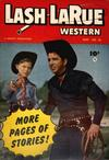Cover for Lash Larue Western (Fawcett, 1949 series) #38