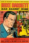 Cover for Mike Barnett, Man Against Crime (Fawcett, 1951 series) #1