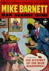 Cover for Mike Barnett, Man Against Crime (Fawcett, 1951 series) #2