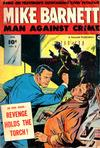 Cover for Mike Barnett, Man Against Crime (Fawcett, 1951 series) #3