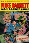 Cover for Mike Barnett, Man Against Crime (Fawcett, 1951 series) #4