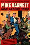 Cover for Mike Barnett, Man Against Crime (Fawcett, 1951 series) #6