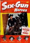 Cover for Six-Gun Heroes (Fawcett, 1950 series) #16
