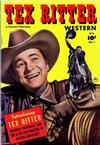 Cover for Tex Ritter Western (Fawcett, 1950 series) #1