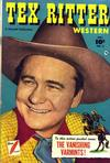 Cover for Tex Ritter Western (Fawcett, 1950 series) #2