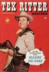 Cover for Tex Ritter Western (Fawcett, 1950 series) #3