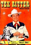 Cover for Tex Ritter Western (Fawcett, 1950 series) #5