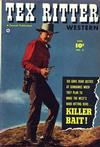 Cover for Tex Ritter Western (Fawcett, 1950 series) #6