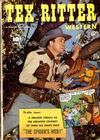 Cover for Tex Ritter Western (Fawcett, 1950 series) #9