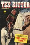 Cover for Tex Ritter Western (Fawcett, 1950 series) #10