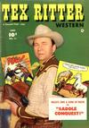 Cover for Tex Ritter Western (Fawcett, 1950 series) #11