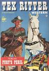 Cover for Tex Ritter Western (Fawcett, 1950 series) #14
