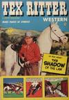 Cover for Tex Ritter Western (Fawcett, 1950 series) #16