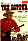 Cover for Tex Ritter Western (Fawcett, 1950 series) #19
