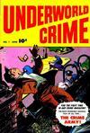 Cover for Underworld Crime (Fawcett, 1952 series) #1